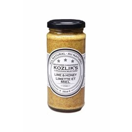 Kozlik's KOZLIK'S MUSTARD - Lime & Honey