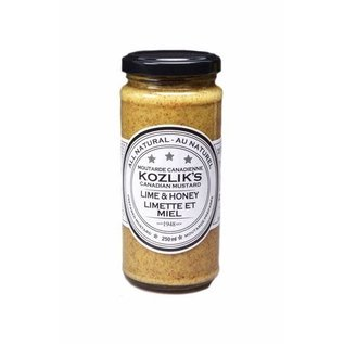Kozlik's KOZLIK'S MUSTARD - Lime & Honey