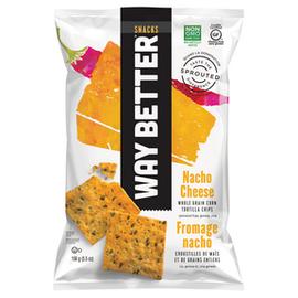 Way Better Snacks DC/Nacho Cheese Corn Tortilla Chips