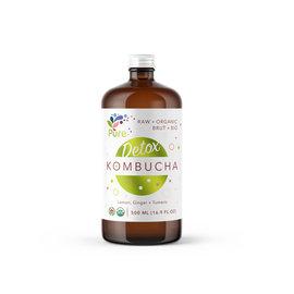 Pure + Kombucha Lemon ginger Tumeric
