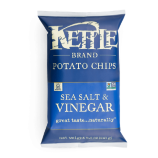 Kettle Chips- Sea Salt & Vinegar