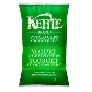 Kettle Chips- Yogurt & Green Onions