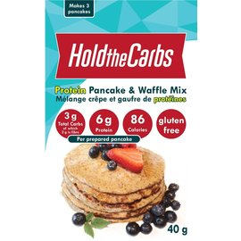 Hold the Carbs DC/Hold The Carbs Pancake & Waffle Mix with Protein 40G