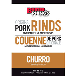 Buster Rhinos Pork Rinds Churro