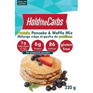 Hold the Carbs DC/Hold the Carbs Pancake & Waffle Mix with Protein 320G