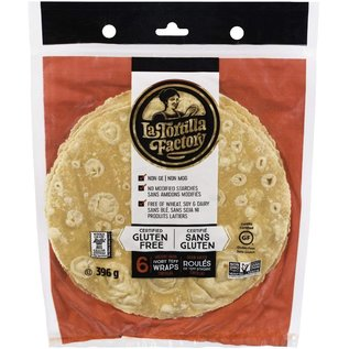 La Tortilla Factory Gluten free Wraps Ancient Grain