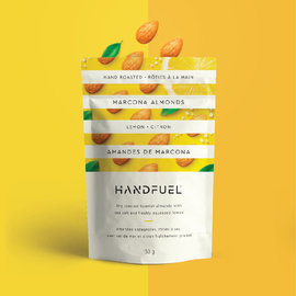 Handfuel D/C Marcona Almonds Lemon 150G