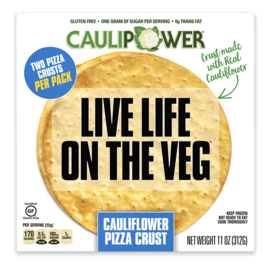Clauipower Cauliflower Pizza Crust
