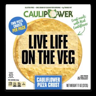 Clauipower Cauliflower Pizza Crust