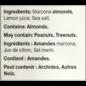 Handfuel Marcona Almonds Lemon 40G