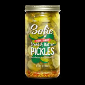 Safie's Safie's Sweet & Hot Bread & Butter Pickles