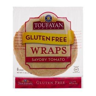 Toufayan Gluten Free Wraps Tomato