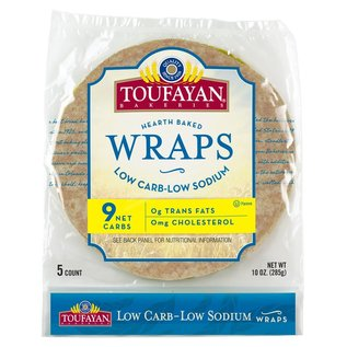 Toufayan LOW CARB Wraps (5pk)