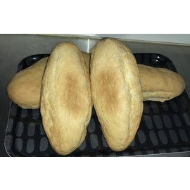Gluten Free Galore GFG 4-Pack Hotdog Buns