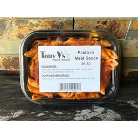 Nesci's Prepared Meals Personal Pasta with Meat Sauce
