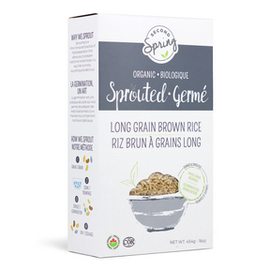 Second Spring D/C Sprouted Long Grain Brown Rice