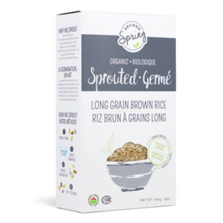 Second Spring Sprouted Long Grain Brown Rice