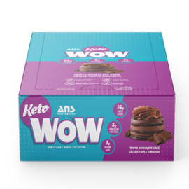 ANS Performance ANS Wow Keto Bars Triple Chocolate  (Singles)