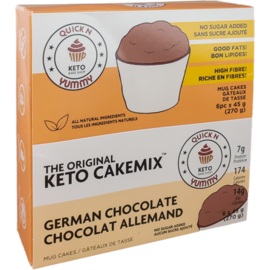 The Original Keto CakeMix German Chocolcate Keto Cup CakeMix 45G
