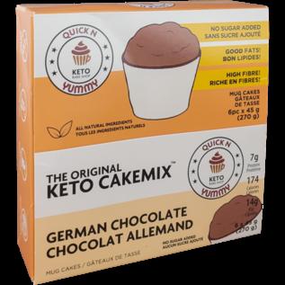 The Original Keto CakeMix German Chocolcate Keto Cup CakeMix 45G
