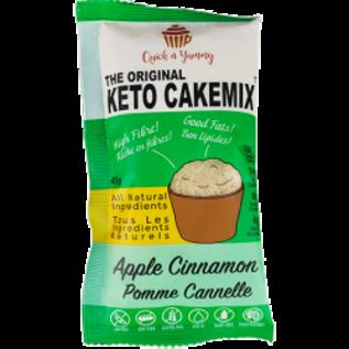 The Original Keto CakeMix Apple Cinnamon  Keto Cup CakeMix 45G