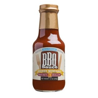Nature's Hollow Sugar Free BBQ Sauce Honey Mustard NH
