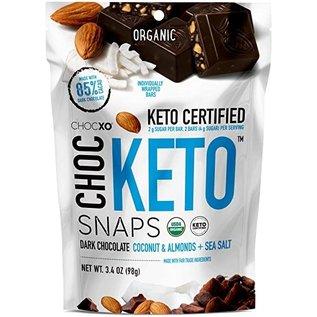 Choc Keto Snaps