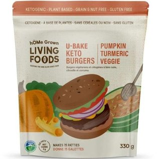 Home Grown D/C Keto Veggie Burger Mix Pumpkin Turmeric