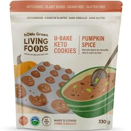 Home Grown Keto U-Bake Cookies Mix Pumpkin Spice