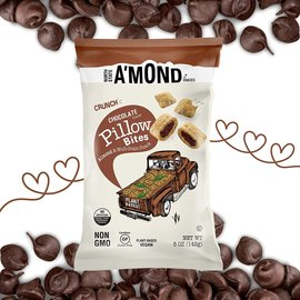 A'MOND Snacks Chocolate Pillow Bites