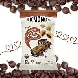 A'MOND Snacks D/C Chocolate Pillow Bites