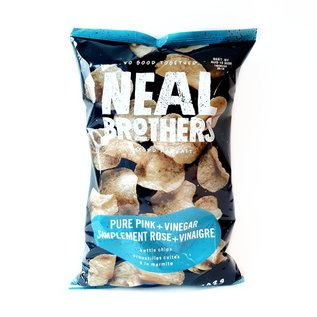 Neal Brothers Pure Pink & Vinegar Kettle Chips 142G