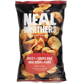 Neal Brothers Sweet & Smokey BBQ Kettle Chips 142G