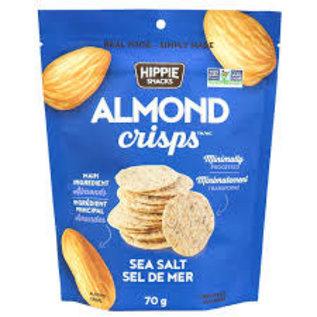 Hippie Snacks Almond Crisps- Sea Salt