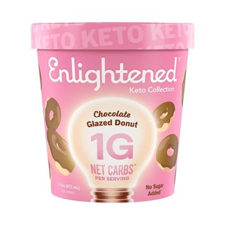 Enlightened Enlightened Keto Glazed Donut