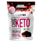 chocxo Choc Keto Snaps DarkChoc Rasp. & Quinoa