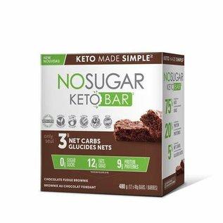 Keto Made Simple NoSugar Keto Bar Chocolate Fudge