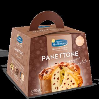 Piaceri Mediterranei Gluten Free Panettone Chocolate Cream