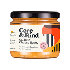 Core Rind Core&Rind Cashew Cheesy Sauce- Bold & Spicy