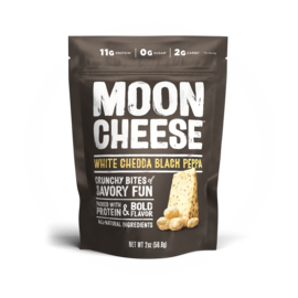 Moon Cheese Moon Cheese White Cheddar Black Pepper