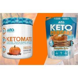 ANS Performance Keto Pancake Mix -Pumkin Spice