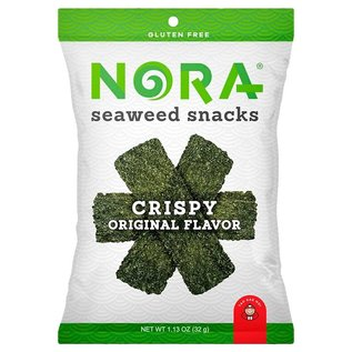 Nora Seaweed Snacks Crispy Seaweed Snacks Original