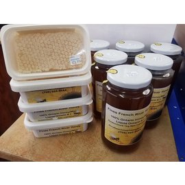 Fines French River Honey Honey Comb Fines French River