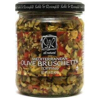 Sable & Rosenfeld Mediterranean Olive Bruschetta
