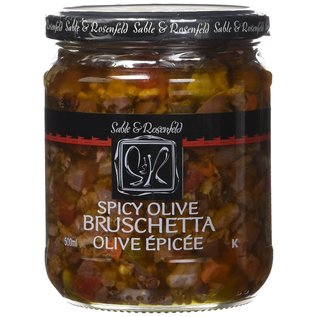 Sable & Rosenfeld Spicy Olive Bruschetta