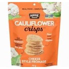 Hippie Snacks Cauliflower Crisps- Cheeze