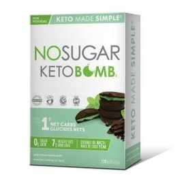 Keto Made Simple NoSugar Keto Bar Chocolate Mint