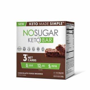 Keto Made Simple NoSugar Keto Bar Chooclate Fudge Brownie