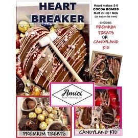 Northwest Fudge Factory Jumbo Heart Breaker