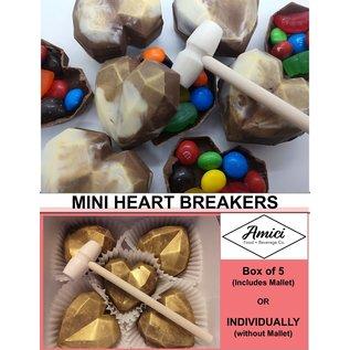 Northwest Fudge Factory Heart Breakers (Box of 5)